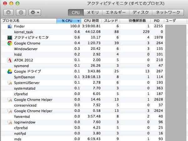 CPU100%